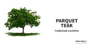 albero dal quale si ricava il parquet teak