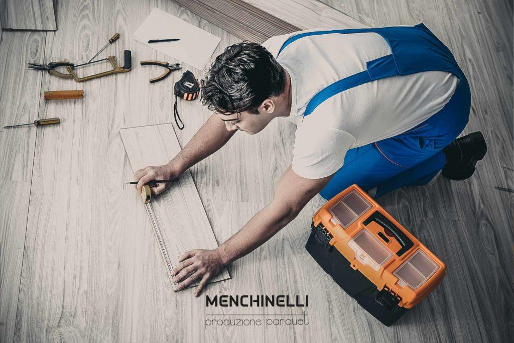sostituire il parquet in legno massello e prefinito