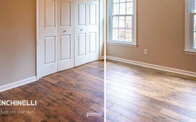 Ossidazione del parquet: come cambia il legno nel tempo?